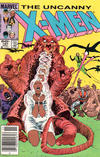 Cover Thumbnail for The Uncanny X-Men (1981 series) #187 [Newsstand]
