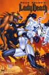 Cover Thumbnail for Brian Pulido's Lady Death: Abandon All Hope (2005 series) #3 [Gold Foil]