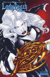 Cover for Brian Pulido's Lady Death: Dark Horizons (Avatar Press, 2006 series)  [Up Close]