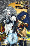 Cover for Brian Pulido's Lady Death vs War Angel (Avatar Press, 2006 series) #1 [Premium]