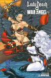 Cover for Brian Pulido's Lady Death vs War Angel (Avatar Press, 2006 series) #1