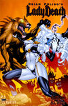 Cover Thumbnail for Brian Pulido's Lady Death: Abandon All Hope (2005 series) #3 [Platinum Foil]