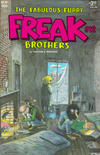 Cover Thumbnail for The Fabulous Furry Freak Brothers (1971 series) #12 [3.25 USD 2nd print]