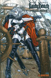 Cover for Brian Pulido's Lady Death: Pirate Queen (Avatar Press, 2007 series)  [Platinum Foil]
