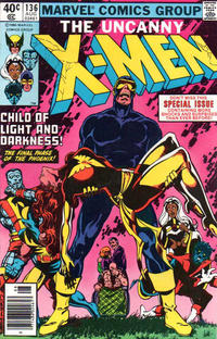 Cover Thumbnail for The X-Men (Marvel, 1963 series) #136 [Newsstand Edition]