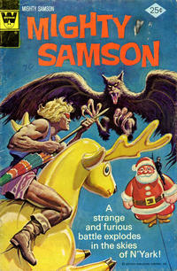Cover Thumbnail for Mighty Samson (Western, 1964 series) #30 [Whitman cover]