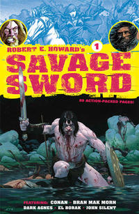 Cover Thumbnail for Robert E. Howard's Savage Sword (Dark Horse, 2010 series) #1