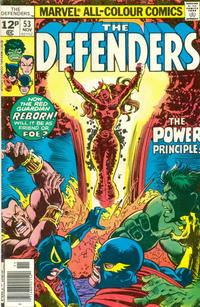 Cover Thumbnail for The Defenders (Marvel, 1972 series) #53 [British]