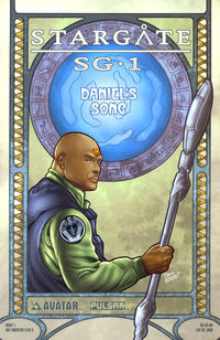 Cover Thumbnail for Stargate SG-1: Daniel's Song (Avatar Press, 2005 series) #1 [Art Nouveau Teal'c]