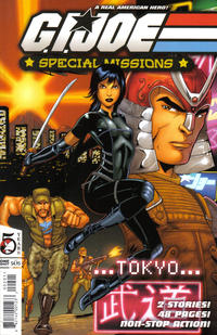 Cover Thumbnail for G.I. Joe: Special Missions Tokyo (Devil's Due Publishing, 2006 series)