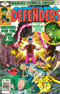 Cover Thumbnail for The Defenders (Marvel, 1972 series) #77 [Direct]