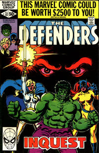 Cover Thumbnail for The Defenders (Marvel, 1972 series) #87 [Direct]