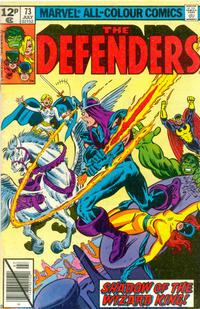 Cover Thumbnail for The Defenders (Marvel, 1972 series) #73 [British]