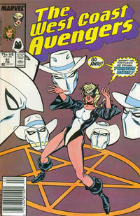 Cover for West Coast Avengers (Marvel, 1985 series) #41 [Direct]