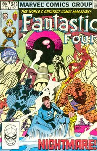Cover Thumbnail for Fantastic Four (Marvel, 1961 series) #248 [Direct Edition]