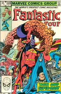 Cover Thumbnail for Fantastic Four (Marvel, 1961 series) #249 [Direct Edition]