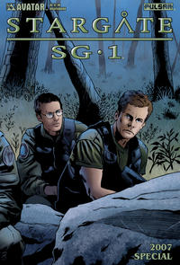 Cover Thumbnail for Stargate SG-1 2007 Special (Avatar Press, 2007 series)  [Wraparound]