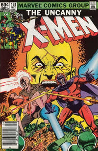 Cover Thumbnail for The Uncanny X-Men (Marvel, 1981 series) #161 [Newsstand]