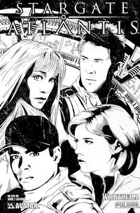 Cover Thumbnail for Stargate Atlantis: Wraithfall (Avatar Press, 2005 series) #1 [Leather]