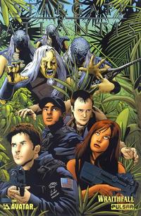 Cover Thumbnail for Stargate Atlantis: Wraithfall (Avatar Press, 2005 series) #2 [Platinum Foil]