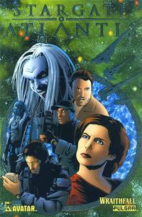 Cover Thumbnail for Stargate Atlantis: Wraithfall (Avatar Press, 2005 series) #1 [Platinum Foil]