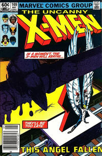 Cover Thumbnail for The Uncanny X-Men (Marvel, 1981 series) #169 [Newsstand]
