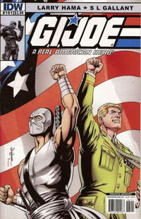 Cover Thumbnail for G.I. Joe: A Real American Hero (IDW, 2010 series) #161 [Cover B]