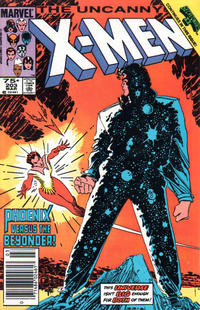 Cover for The Uncanny X-Men (Marvel, 1981 series) #203 [Direct Edition]