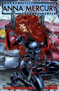 Cover Thumbnail for Anna Mercury: Prepare for Launch (Avatar Press, 2008 series)  [Juan Jose Ryp]