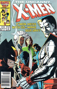 Cover Thumbnail for The Uncanny X-Men (Marvel, 1981 series) #210 [Newsstand Edition]