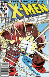 Cover Thumbnail for The Uncanny X-Men (Marvel, 1981 series) #217 [Newsstand]