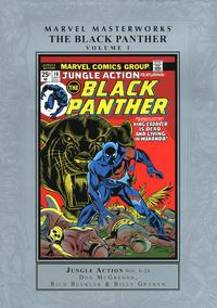 Cover Thumbnail for Marvel Masterworks: The Black Panther (Marvel, 2010 series) #1 [Regular Edition]