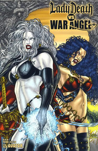 Cover Thumbnail for Brian Pulido's Lady Death vs War Angel (Avatar Press, 2006 series) #1 [Premium]