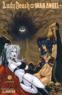Cover Thumbnail for Brian Pulido's Lady Death vs War Angel (Avatar Press, 2006 series) #1 [Jewel]