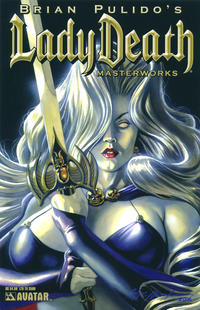 Cover for Brian Pulido's Lady Death: Masterworks (Avatar Press, 2007 series)  [Royal Blue]
