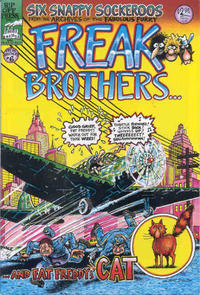 Cover Thumbnail for The Fabulous Furry Freak Brothers (Rip Off Press, 1971 series) #6 [2.95 USD 6th print]