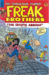 Cover Thumbnail for The Fabulous Furry Freak Brothers (Rip Off Press, 1971 series) #8 [2.95 USD 3rd print]