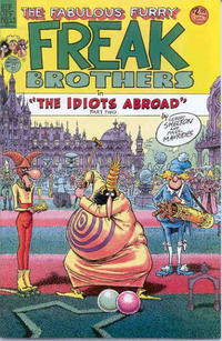 Cover Thumbnail for The Fabulous Furry Freak Brothers (Rip Off Press, 1971 series) #9 [2.95 USD 4th print]