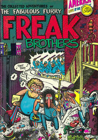 Cover for The Fabulous Furry Freak Brothers (Rip Off Press, 1971 series) #1 [3.95 USD 20th print]