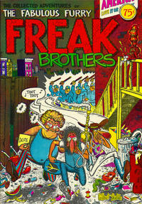 Cover Thumbnail for The Fabulous Furry Freak Brothers (Rip Off Press, 1971 series) #1 [0.75 USD 12th-13th print]