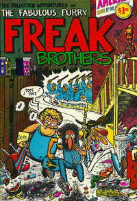 Cover Thumbnail for The Fabulous Furry Freak Brothers (Rip Off Press, 1971 series) #1 [1.00 USD 14th print]