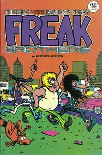 Cover for The Fabulous Furry Freak Brothers (Rip Off Press, 1971 series) #2