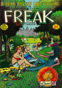 Cover Thumbnail for The Fabulous Furry Freak Brothers (Rip Off Press, 1971 series) #3 [1.25 USD 6th print]