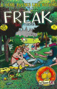 Cover Thumbnail for The Fabulous Furry Freak Brothers (Rip Off Press, 1971 series) #3 [3.95 USD 12th print]