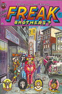 Cover Thumbnail for The Fabulous Furry Freak Brothers (Rip Off Press, 1971 series) #4 [3.95 USD 9th print]