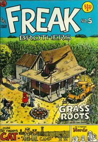 Cover Thumbnail for The Fabulous Furry Freak Brothers (Rip Off Press, 1971 series) #5 [1.25 USD 3rd print]