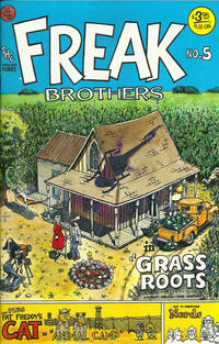 Cover Thumbnail for The Fabulous Furry Freak Brothers (Rip Off Press, 1971 series) #5 [3.95 USD 9th print]