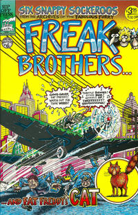 Cover Thumbnail for The Fabulous Furry Freak Brothers (Rip Off Press, 1971 series) #6 [3.95 USD 8th print]