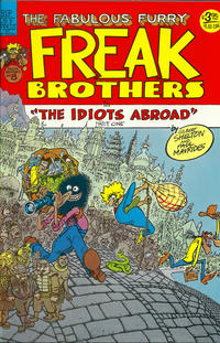 Cover Thumbnail for The Fabulous Furry Freak Brothers (Rip Off Press, 1971 series) #8 [3.95 USD 5th print]