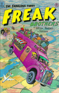 Cover Thumbnail for The Fabulous Furry Freak Brothers (Rip Off Press, 1971 series) #11 [3.25 USD 3rd print]